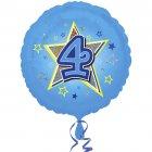 Ballon H�lium 4 ans Star
