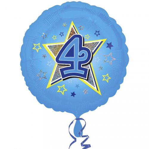 Ballon Hélium 4 ans Star