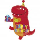 Ballon Mylar Little Dino Happy Birthday