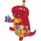 Ballon Mylar Little Dino Happy Birthday
