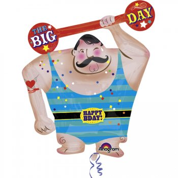 Ballon Géant Strong Man Circus