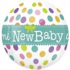 Ballon orbz Hélium New Baby