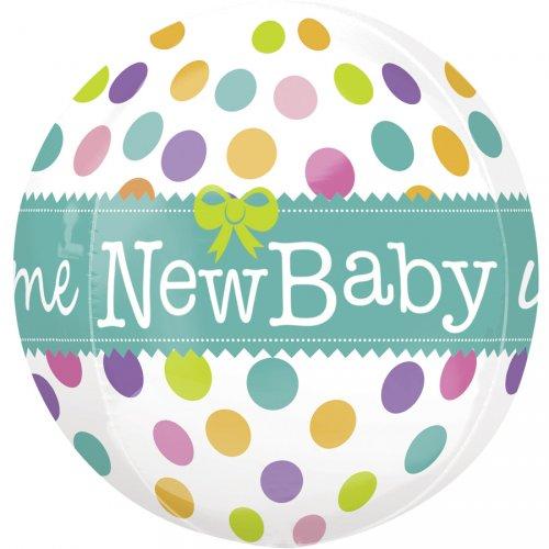 Ballon orbz Gonflé à l Hélium New Baby
