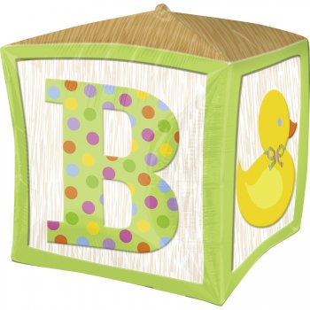 Ballon Mylar Cube Baby