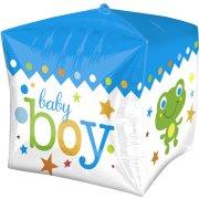 Ballon Mylar Cube Sweet Baby Boy