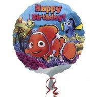 Ballon Hélium Némo Happy Birthday