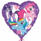 Ballon Hélium My Little Pony Coeur