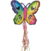 Pull Pinata Papillon Néon