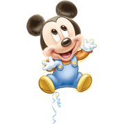 Ballon G�ant Mickey Baby