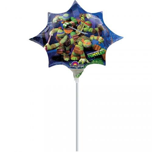 Ballon sur tige Tortue Ninja