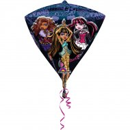 Ballon à Plat Monster High Diamant