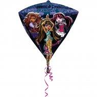 Ballon à Plat Monster High Diamant