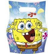 6 Pochettes Cadeaux Bob L'Eponge 2