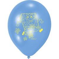 Contient : 1 x 6 Ballons Bob L'Eponge 2