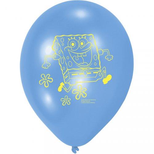 6 Ballons Bob L Eponge 2