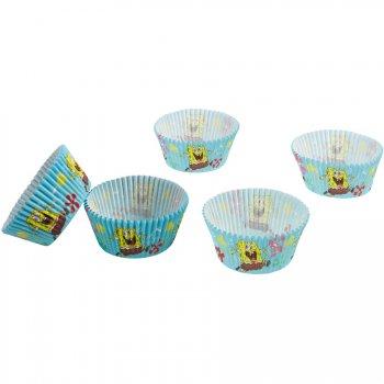 48 Caissettes à Cupcakes Bob L Eponge 2