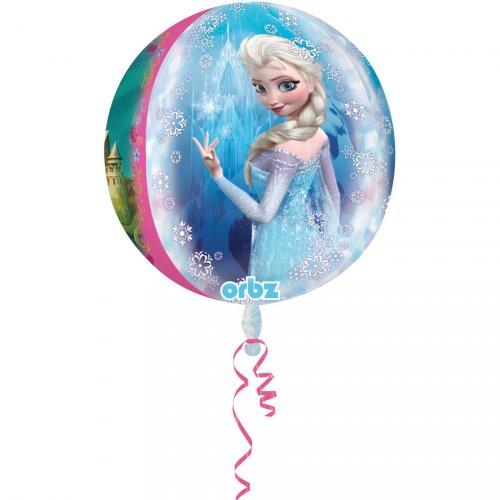 Ballon Orbz Hélium La Reine des Neiges