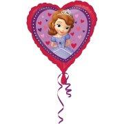 Ballon H�lium Princesse Sofia Coeur