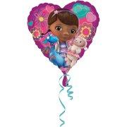 Ballon H�lium Dr La Peluche Coeur