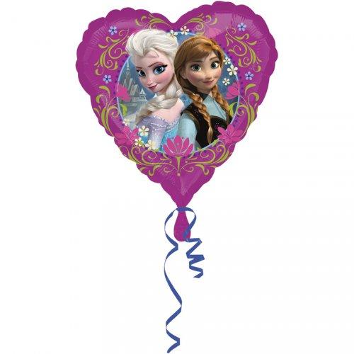 Ballon Gonflé à l Hélium La Reine Des Neiges Coeur