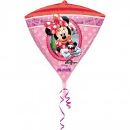 Ballon Hélium Minnie Diamant