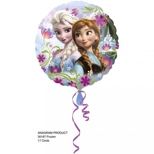 Ballon Hélium La Reine Des Neiges Fleurs