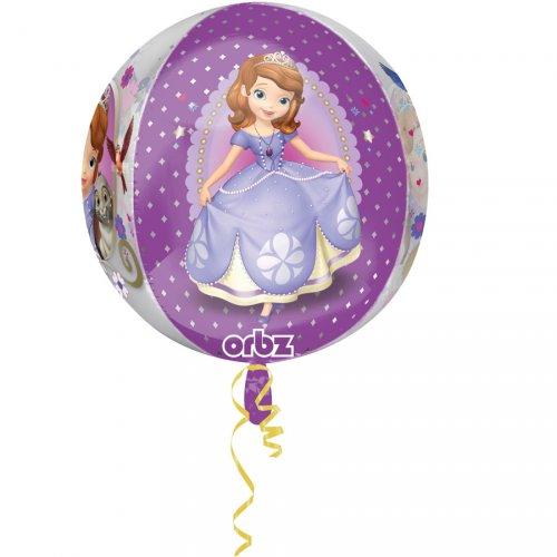 Ballon Orbz Hélium Princesse Sofia