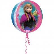 Ballon Orbz à Plat La Reine des Neiges