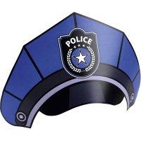 Contient : 1 x 8 Chapeaux Police