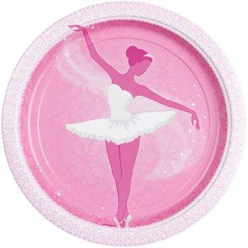 8 Assiettes Ballet