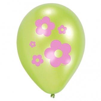 6 Ballons Sweet Hiboux