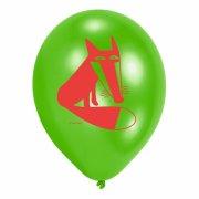6 Ballons Animaux de la For�t