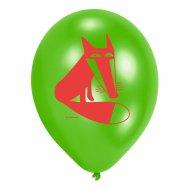 6 Ballons Animaux de la Forêt