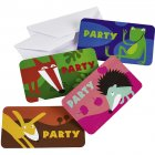 8 Invitations Animaux de la For�t