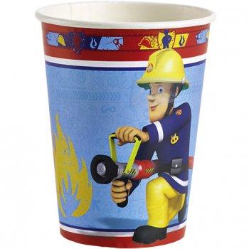 8 Gobelets  Sam le Pompier