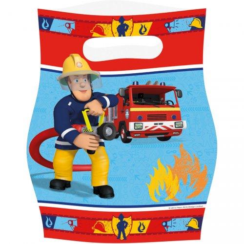 8 Pochettes Cadeaux Sam le Pompier