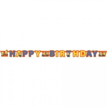 Guirlande lettres Happy Birthday Minions
