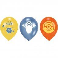 6 Ballons Minions