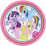 8 Assiettes My Little Pony