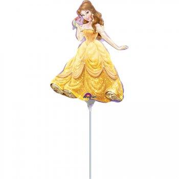 Ballon sur Tige Princesse Belle