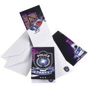 6 Invitations Police