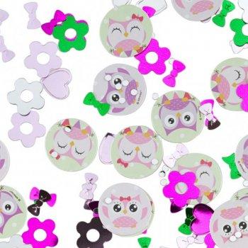 Confettis Sweet Hiboux