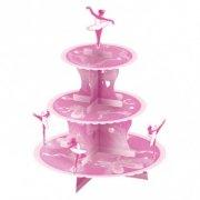 Pr�sentoir � Cupcakes Ballet