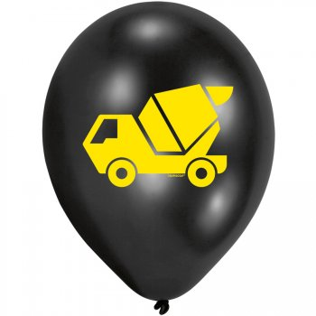 10 Ballons Chantier de construction