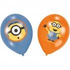 6 Ballons Minions Party