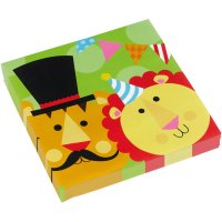 Contient : 1 x 20 Serviettes Fisher Price Circus