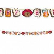 Guirlande Happy Birthay Ours Paddington