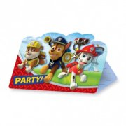 8 Invitations Pat' Patrouille