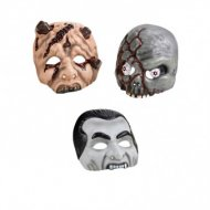 1 Masque Halloween demi-face