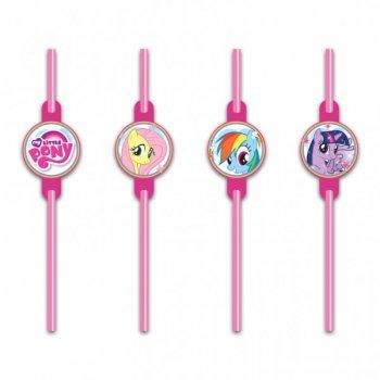 8 Pailles My Little Pony